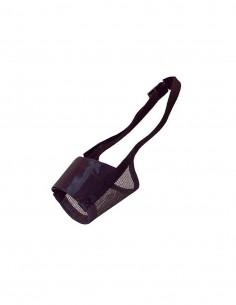 Bozal Nylon Negro S 14-17cm