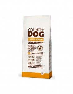 Country Dog Food Light & Senior 15 Kg