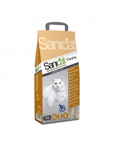 Sanicat 10L. Clumping (Aglomerante)