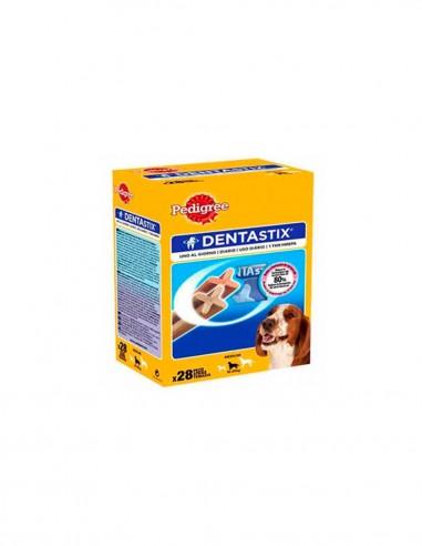 Dentastix Razas Medianas cuidado dental (Caja 28 unid.)