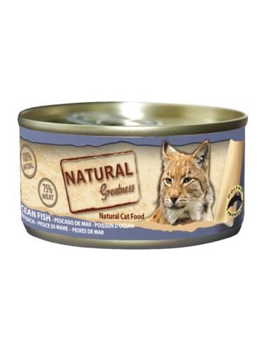 Natural Greatness pescado de mar para gatos