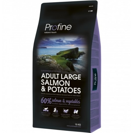 Pienso para perros profine Adult Large Salmon 15 Kg